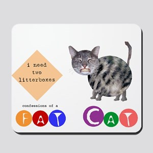 Confessions of a Fat Cat Mousepad