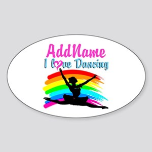 BALLET DANCER Sticker (Oval)