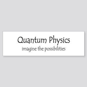 Quantum Physics Sticker (Bumper)