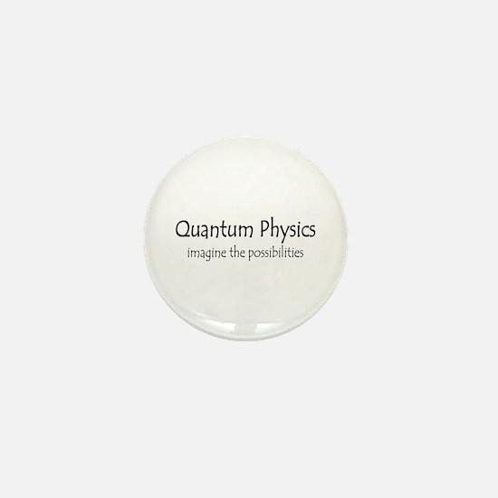 Quantum Physics Mini Button