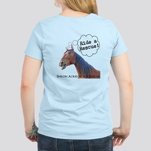 SAHR 'Ride a Rescue' Women's Light T-Shirt