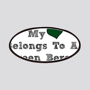 My Heart Belongs To A Green Beret Patches