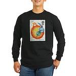 Isaac Newton Long Sleeve Black T-Shirt