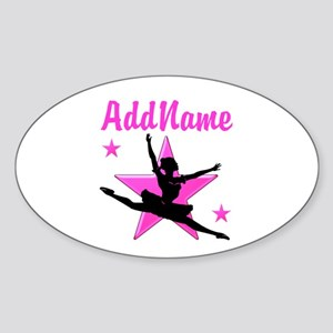 DANCE SUPER STAR Sticker (Oval)