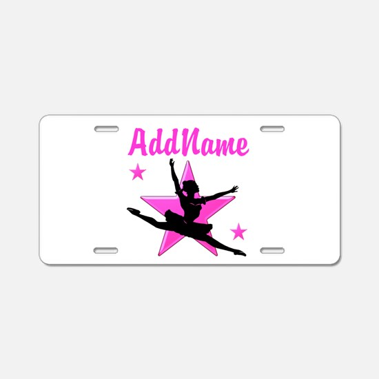 DANCE SUPER STAR Aluminum License Plate