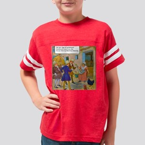 025vRevised Hickety, pickety  Youth Football Shirt