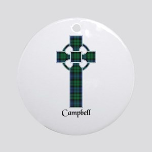 Cross - Campbell Ornament (Round)