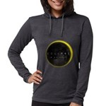 Solar Eclipse 2017 Womens Hooded Shirt