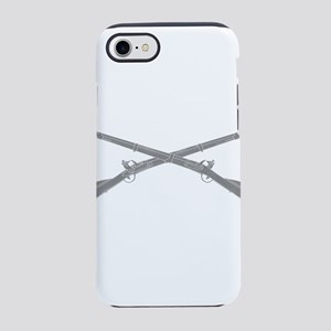 Infantry Crossed Rifles iPhone 7 Tough Case