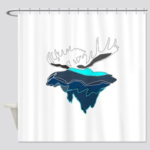GOING FORWARD Shower Curtain