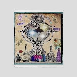 Perfume & Fairy Dust Throw Blanket