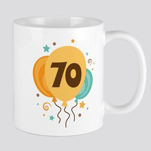 70th Birthday Party Mug