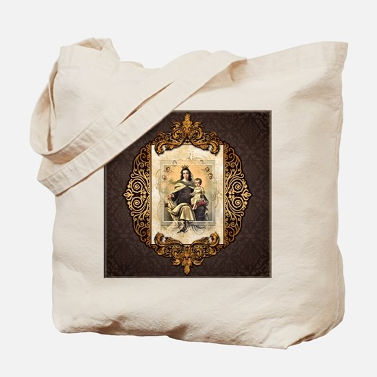 Our Lady of Mt Carmel Tote Bag