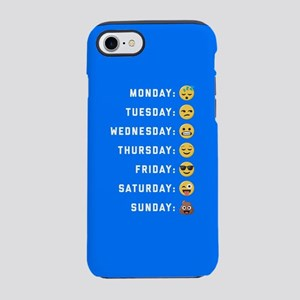 Emoji Days of the Week iPhone 7 Tough Case