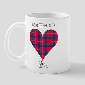 Heart-Sims.Fraser Mug