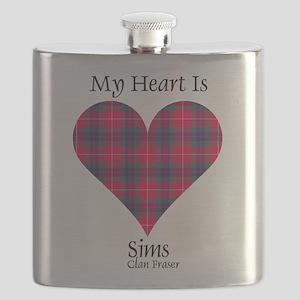 Heart-Sims.Fraser Flask