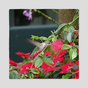 Hummingbird Queen Duvet
