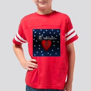 Twilight sparkling scratched  Youth Football Shirt