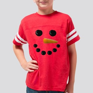 Snow Man Youth Football Shirt