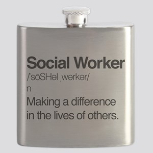 Social Worker Definition Flask