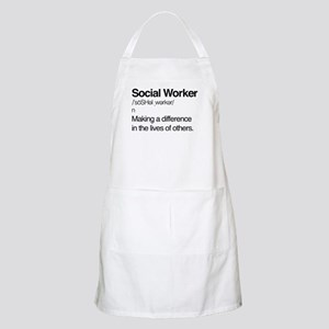 Social Worker Definition Light Apron