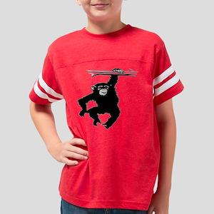 Blk_Swinging_Monkey_0033a Youth Football Shirt