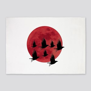 BLOOD MOON 5'x7'Area Rug