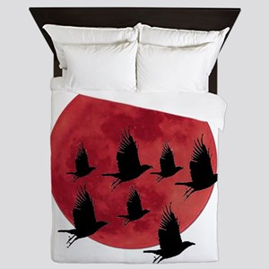 BLOOD MOON Queen Duvet