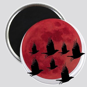 BLOOD MOON Magnets