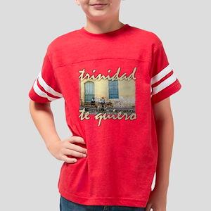 Trinidad Cuba Te Quiero Youth Football Shirt