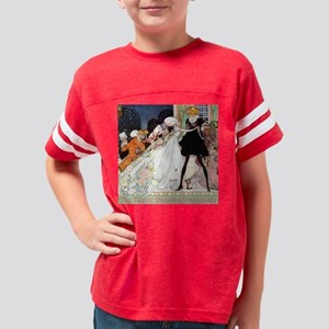2-In Powder and Crinoline003  Youth Football Shirt