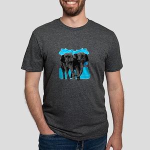 THIS LOVE SHOWS Mens Tri-blend T-Shirt