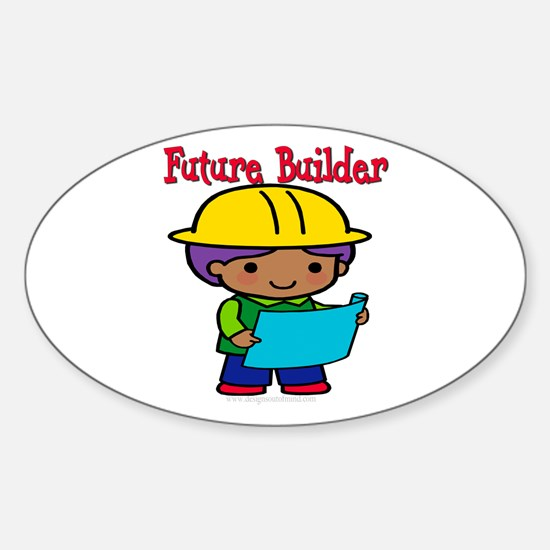 Future Builder Oval Decal