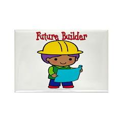 Future Builder Rectangle Magnet