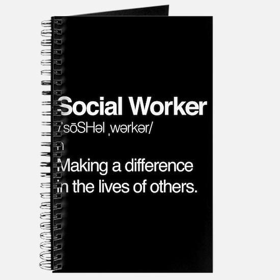 Social Worker Definition Journal