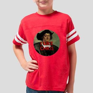 i like chris Youth Football Shirt