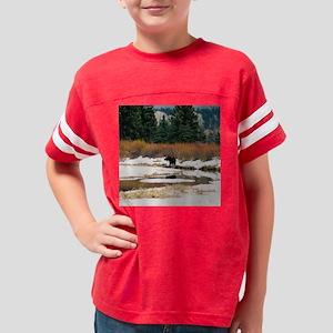 Moose Tile Youth Football Shirt