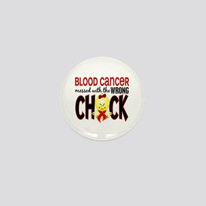 Blood Cancer Messed With Wrong Chick Mini Button