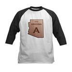 Copper Arizona 1912 State Outline Baseball Jersey