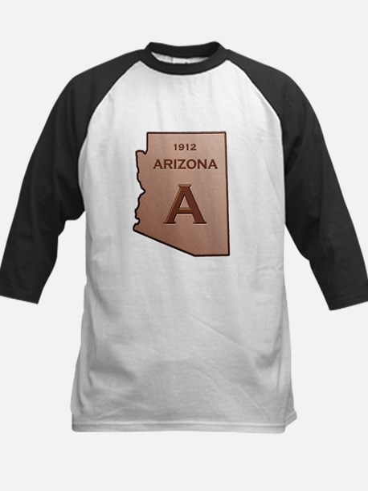 Copper Arizona 1912 State Outline Baseball Jersey