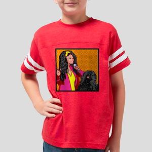 vPuliDogOwnerDuo2 Youth Football Shirt