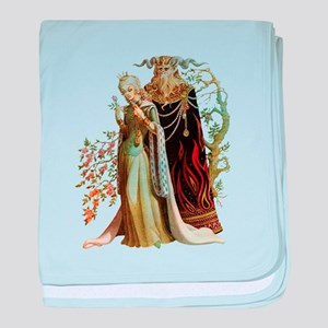 Beauty and the Beast baby blanket
