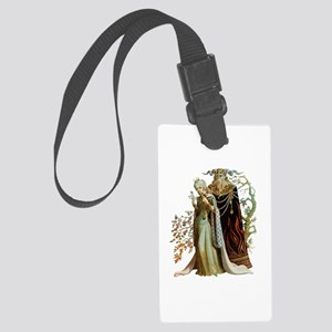 Beauty and the Beast Large Luggage Tag
