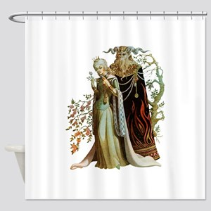 Beauty and the Beast Shower Curtain