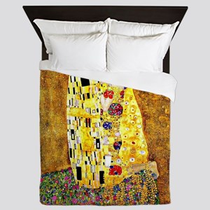 Klimt - The Kiss Queen Duvet