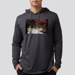 PICT0038groveof birch trees Mens Hooded Shirt