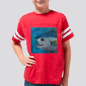 Tuna Tango Tile Youth Football Shirt