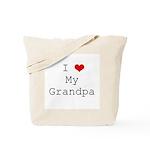 I Heart My Grandpa Tote Bag