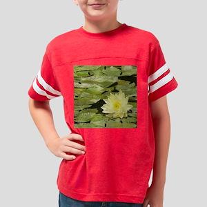 lily pad-clock Youth Football Shirt