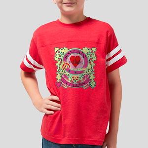 Swan Cullen Twilight Love Cre Youth Football Shirt